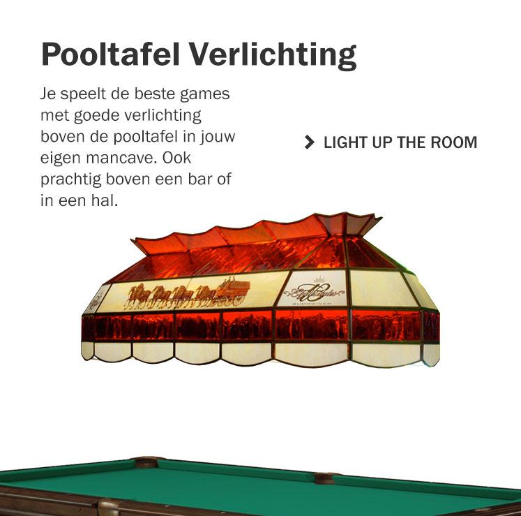 Pooltafel Verlichting