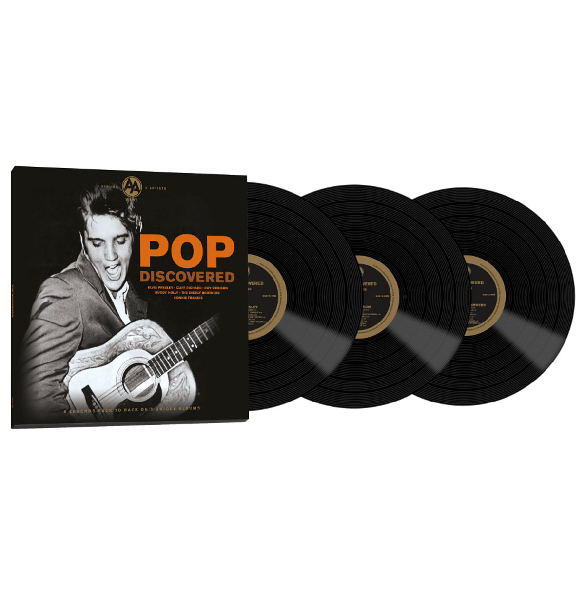 Various Artists - Pop Discovered 3 LP