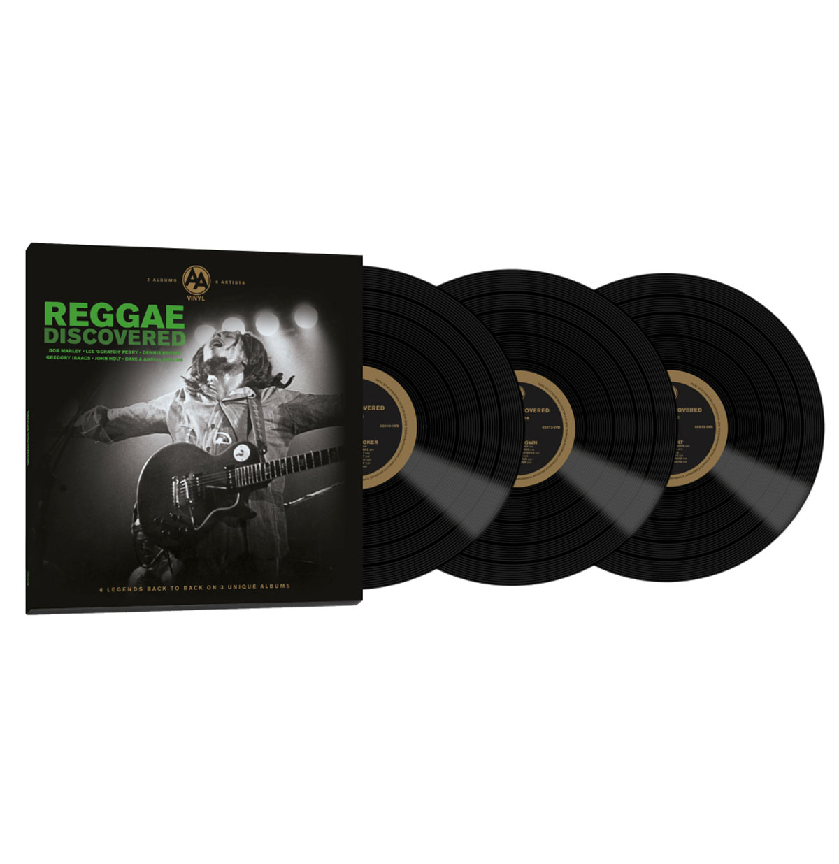 Various Artists - Reggae Discovered 3 LP