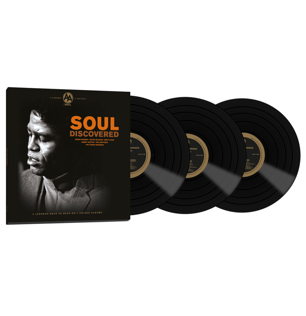 Various Artists - Soul Discovered 3 LP