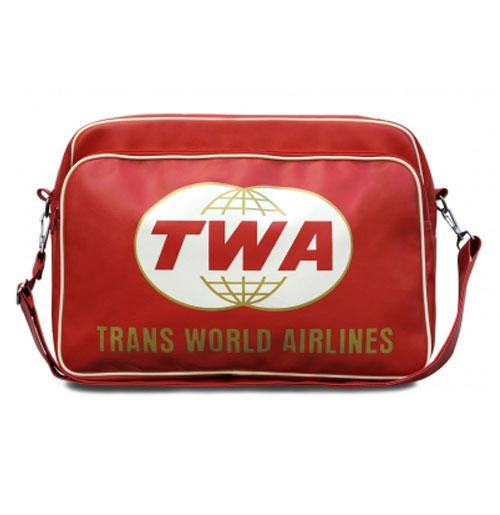 Tas TWA (Trans World Airlines) Retro