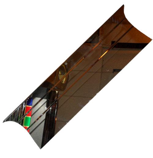 Wurlitzer 1700 Voetplaat Chroom