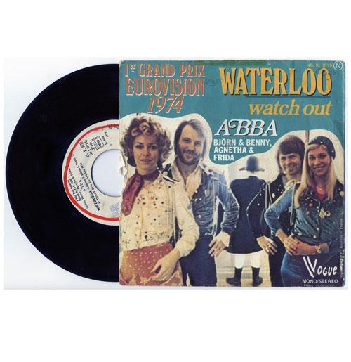 Abba 45 RPM Waterloo