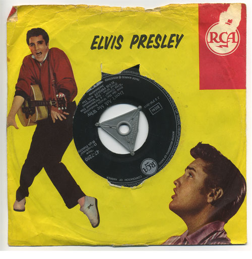 Elvis Presley 45 RPM Hard Headed Woman