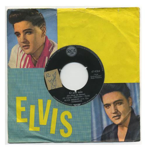 Elvis Presley 45 RPM O Sole Mio