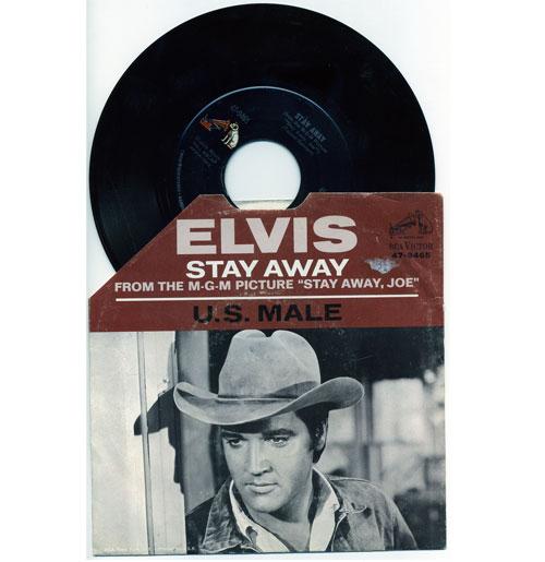 Elvis Presley 45 RPM Stay Away