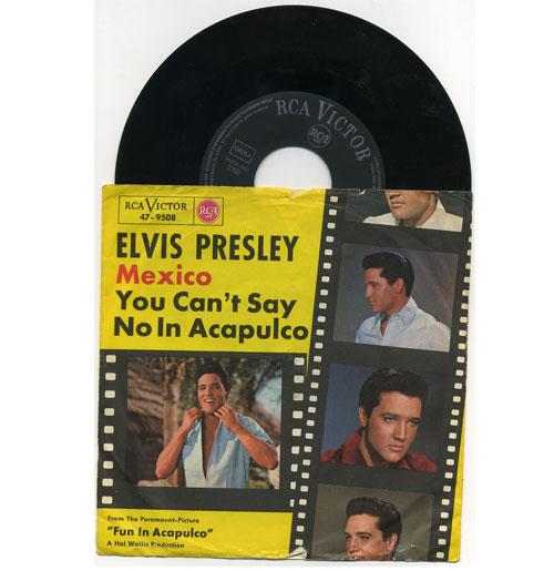 Elvis Presley 45 RPM Mexico