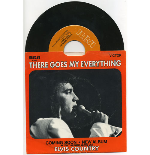 Elvis Presley 45 RPM I Really Don't Want to Know