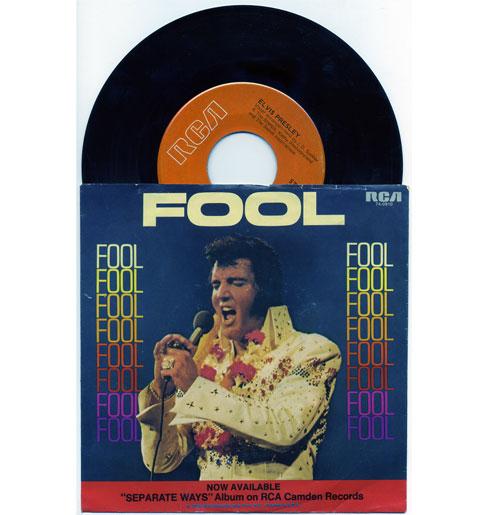 Elvis Presley 45 RPM Fool