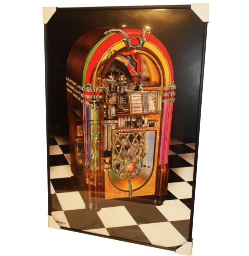 Poster Jukebox Antique Apparatus by David Kimble