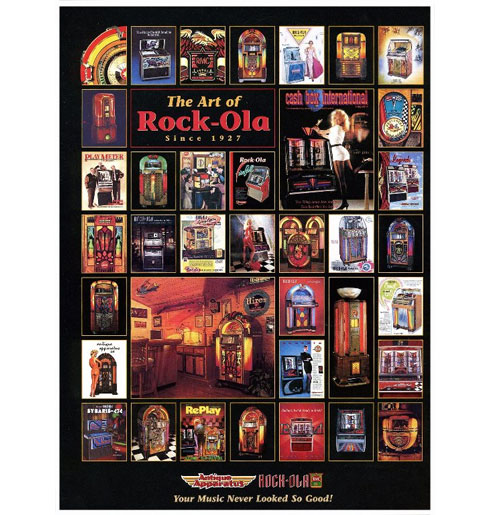 The Art of Rock-Ola Poster