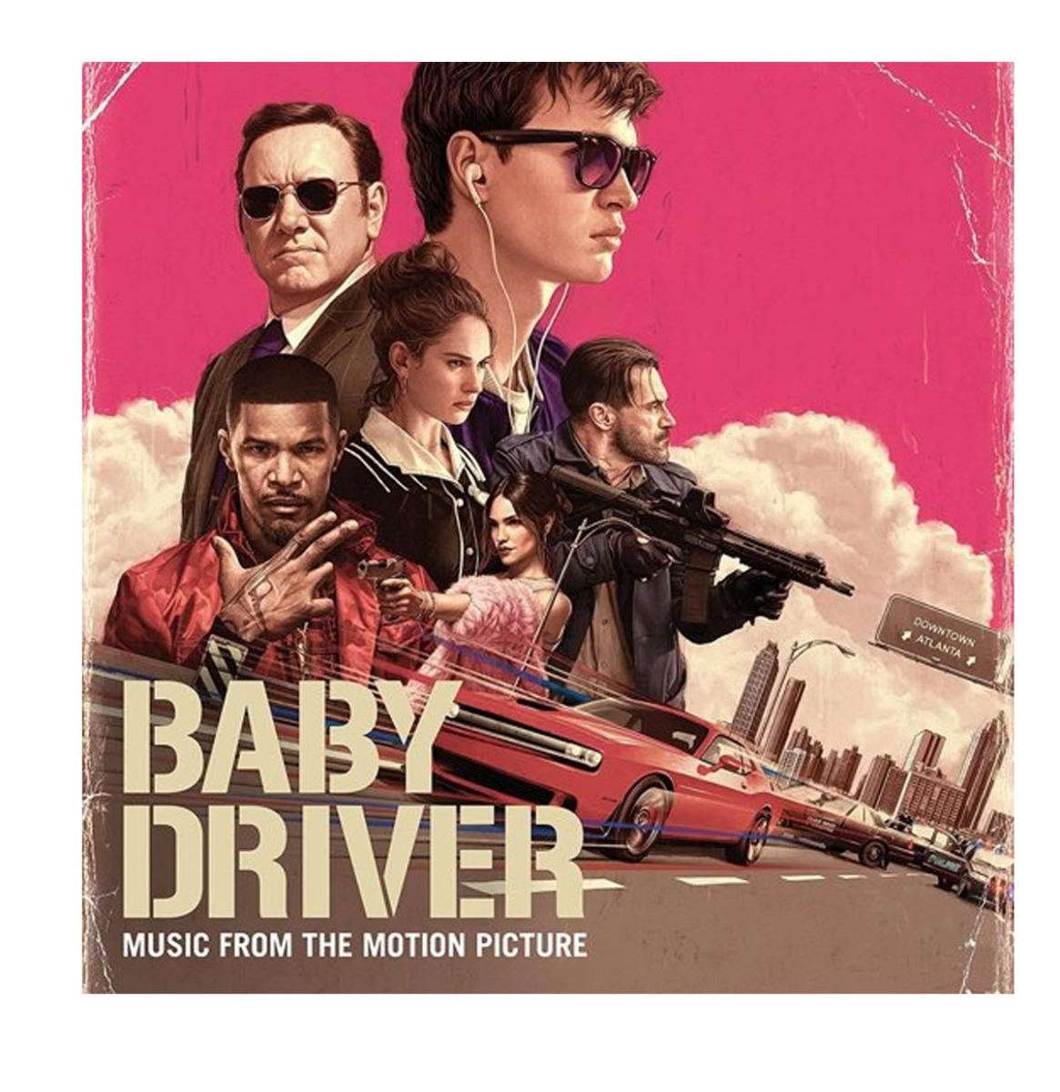 Baby Driver Music From The Motion Picture 2LP