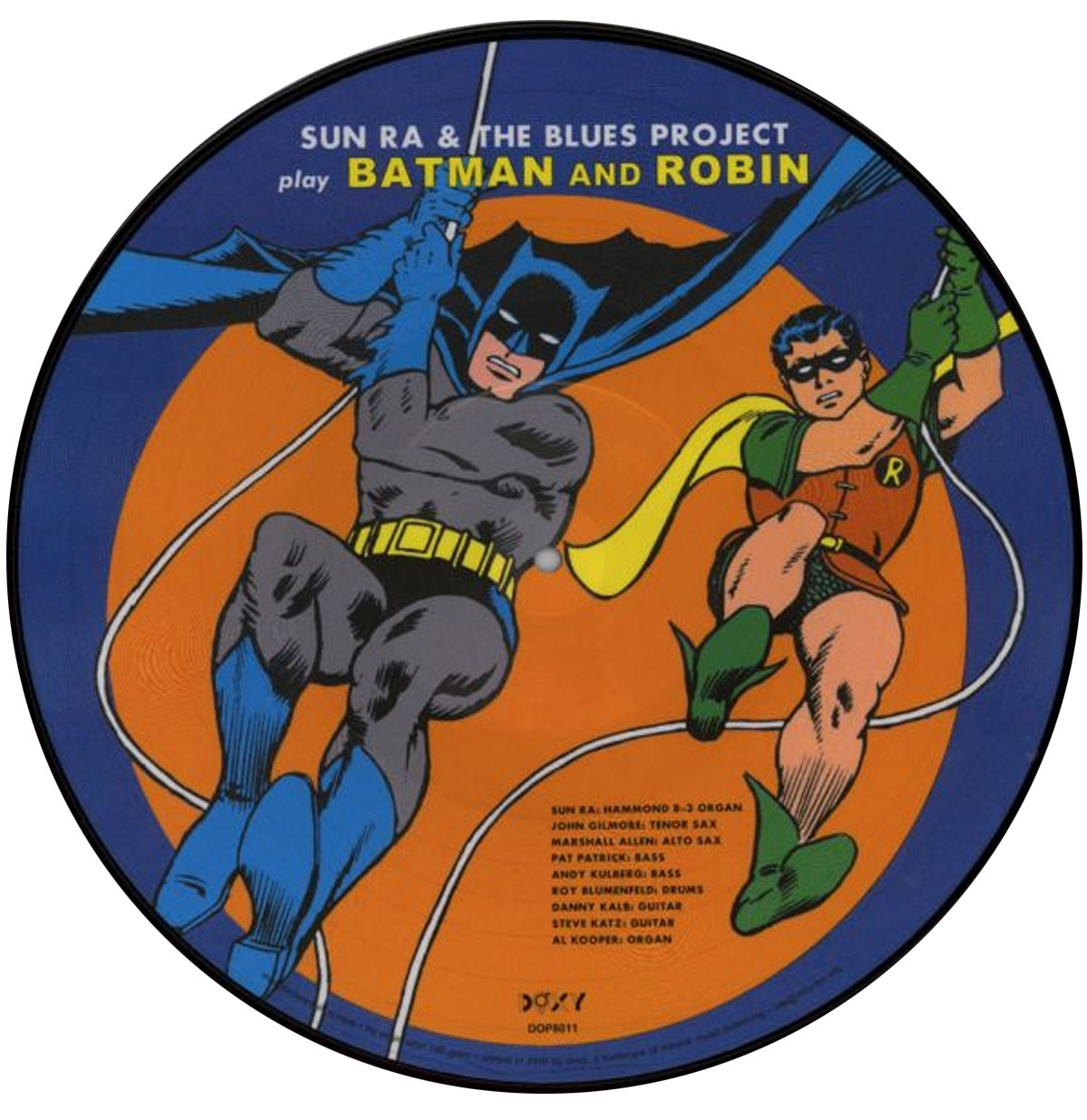 Sun RA & The Blues Project - Batman And Robin LP Picture Disc