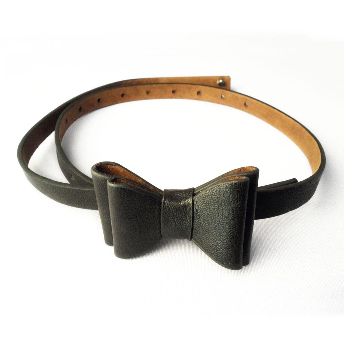 Bow Belt, Black