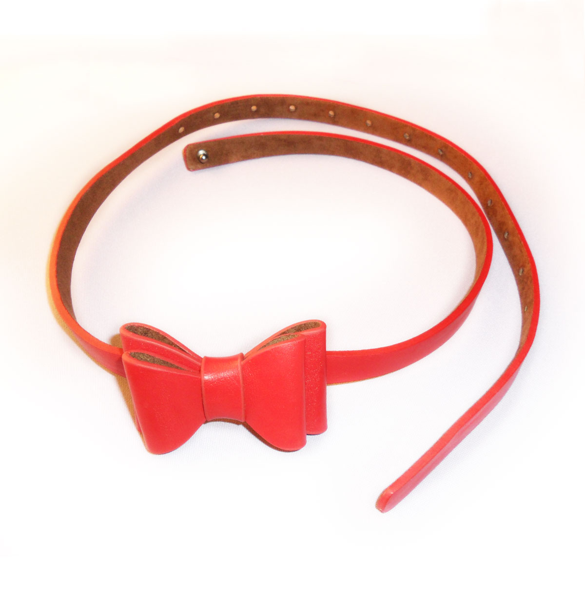 Bow Belt, Red