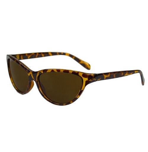 Dames Zonnebril, Classic Cat-eye Bruin Leopard
