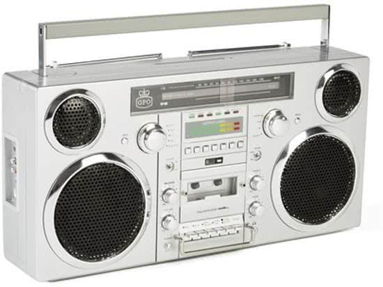 GPO Brooklyn Trendy 80's Boombox