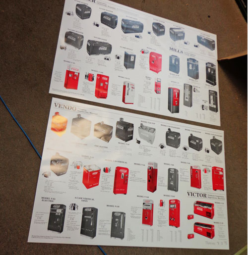Coca-Cola Machines Set of 2, 2-sided posters