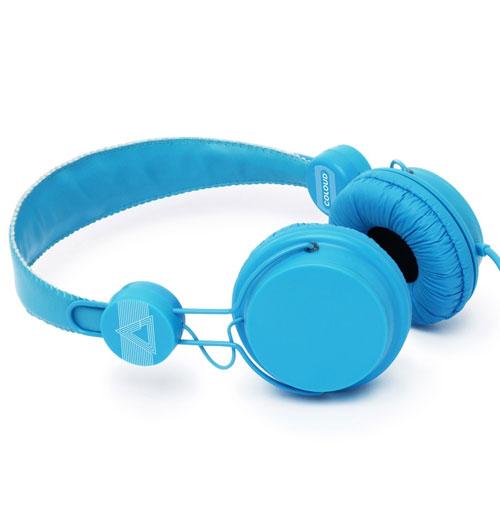 Coloud Retro Hoofdtelefoon Blauw