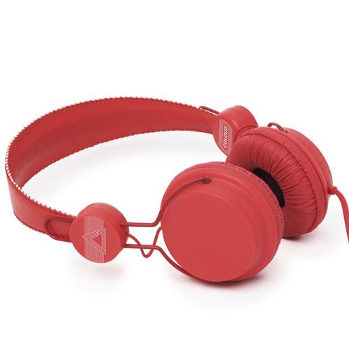 Coloud Retro Hoofdtelefoon Rood
