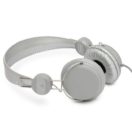 Coloud Retro Hoofdtelefoon Zilver Kleurig