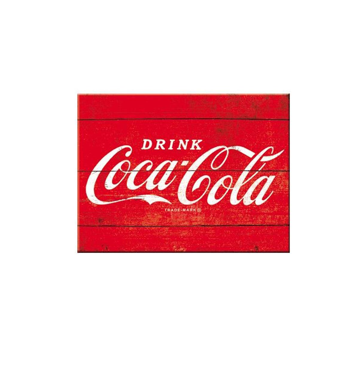 Magneet Coca-Cola Logo Red