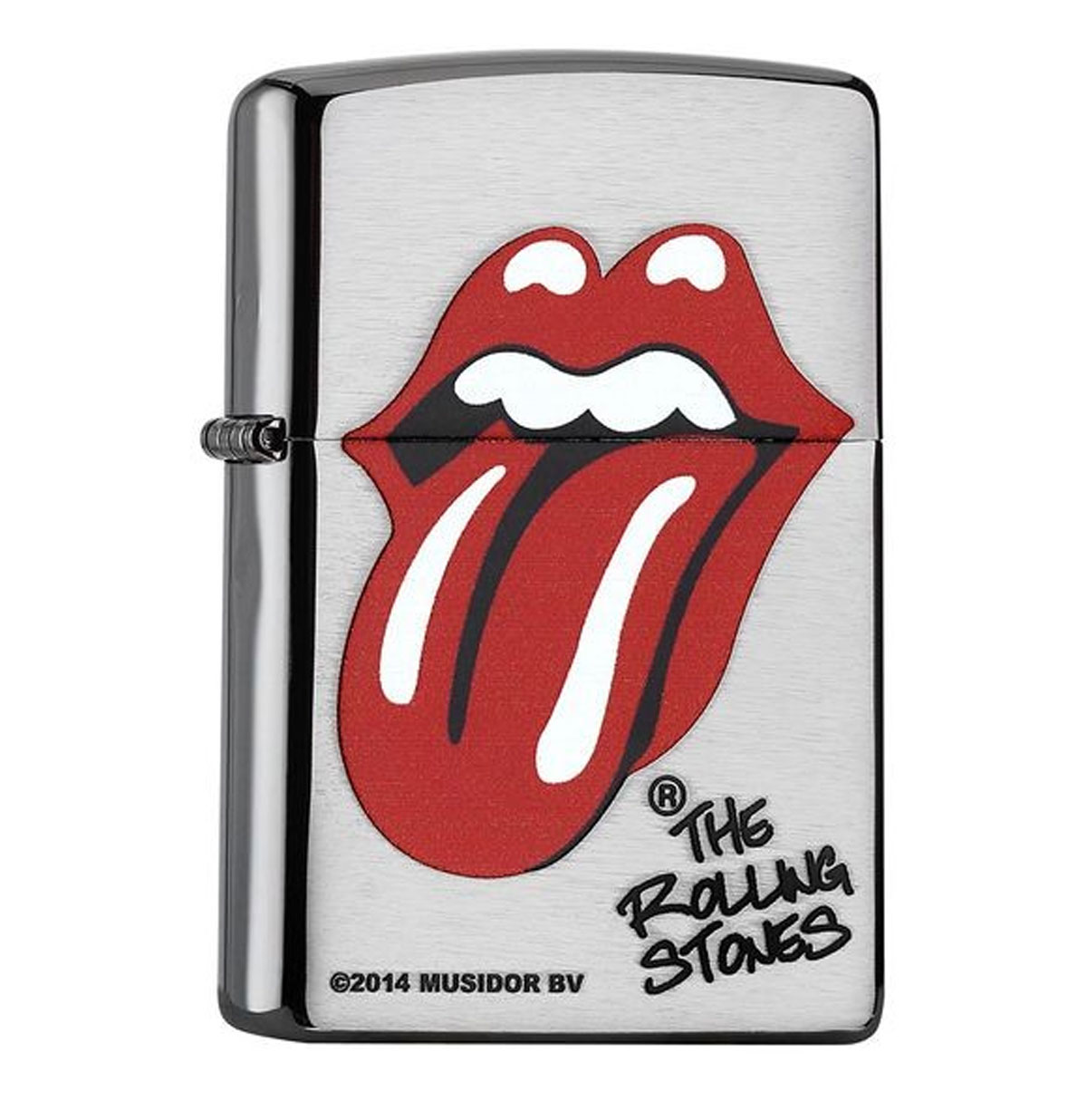 Zippo Aansteker The Rolling Stones Chrome