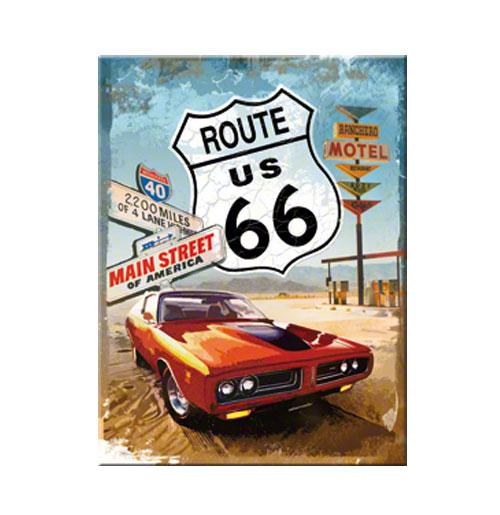 Route 66 Magneet Main Street of America