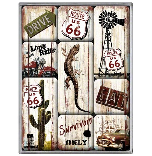 Magneet Set Route 66 Desert
