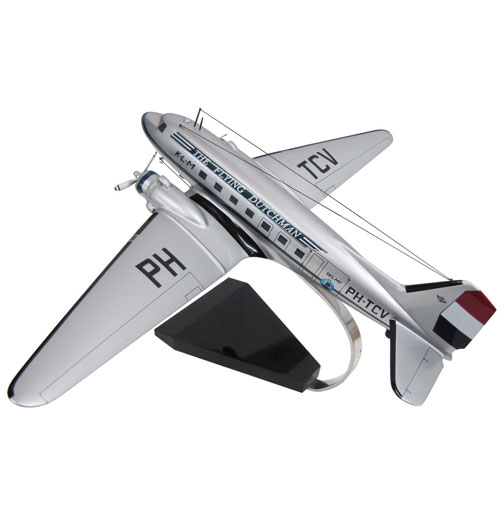 Model Vliegtuig DC-3 KLM The Flying Dutchman