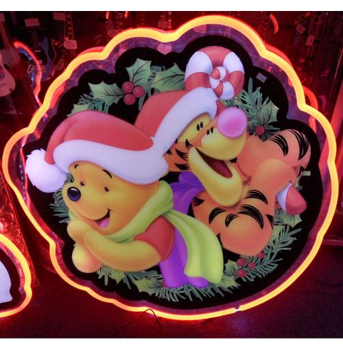 Disney Pooh LED Neon-Look Sign