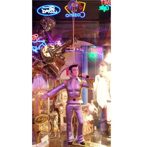 Elvis Presley Spiegelhanger, Zilver