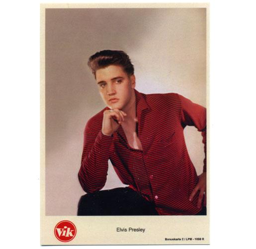 Elvis Presley Vik Fotokaart 1