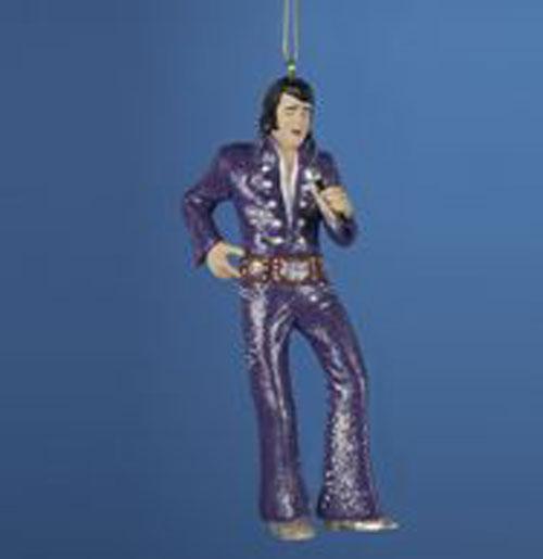 Elvis Presley Kerstboom Ornament Owl Suit