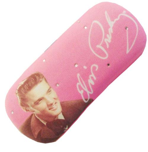 Elvis Presley zonnebrillen koker Hot Pink