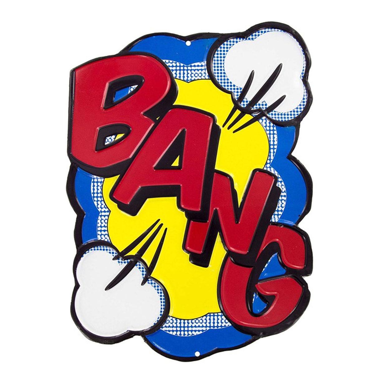 Bang Embossed Die Cut Metalen Bord