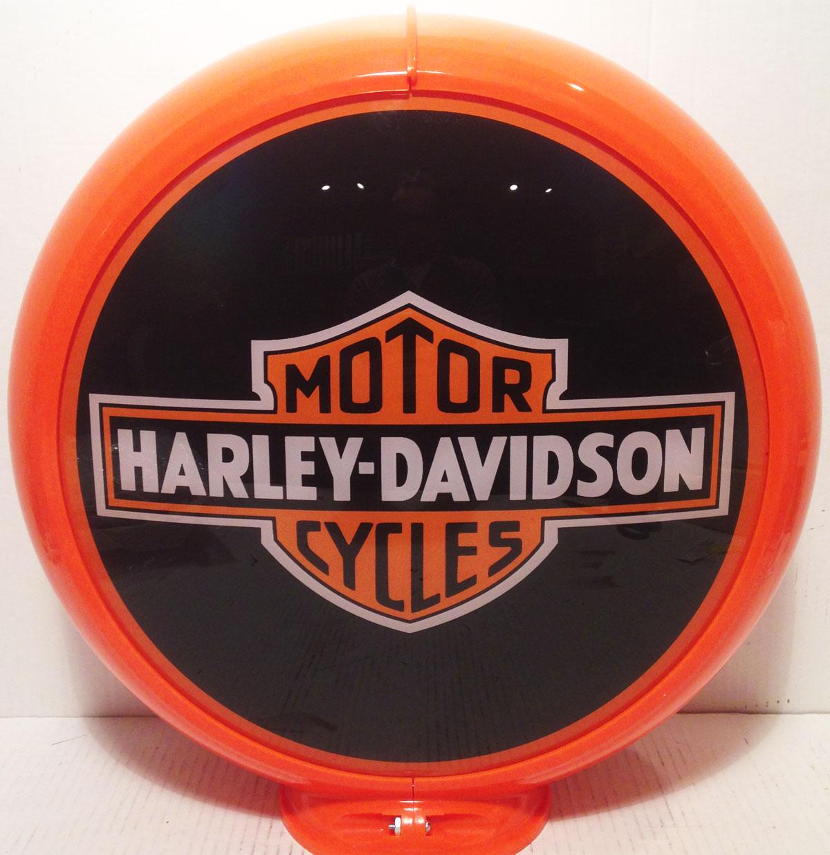 Harley-Davidson benzinepomp bol
