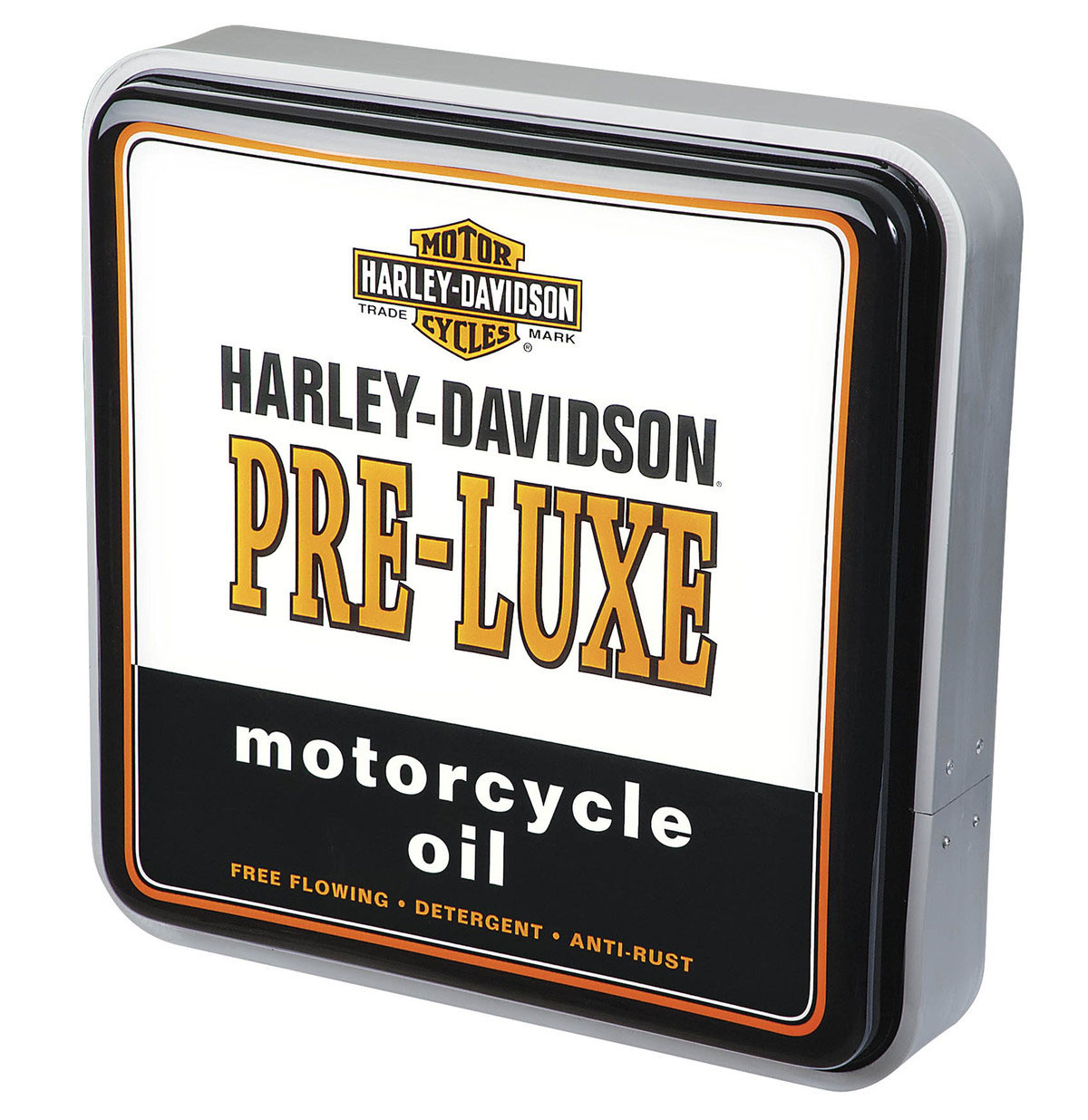 Harley-Davidson Pre-Luxe Oil Can Vierkante Wand Lamp