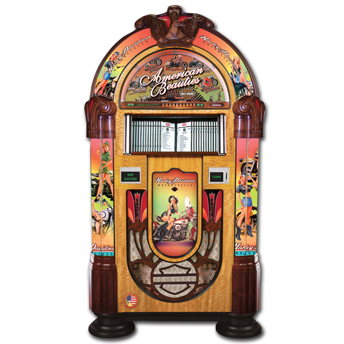 Jukebox Rock-Ola CD Harley-Davidson American Beauty