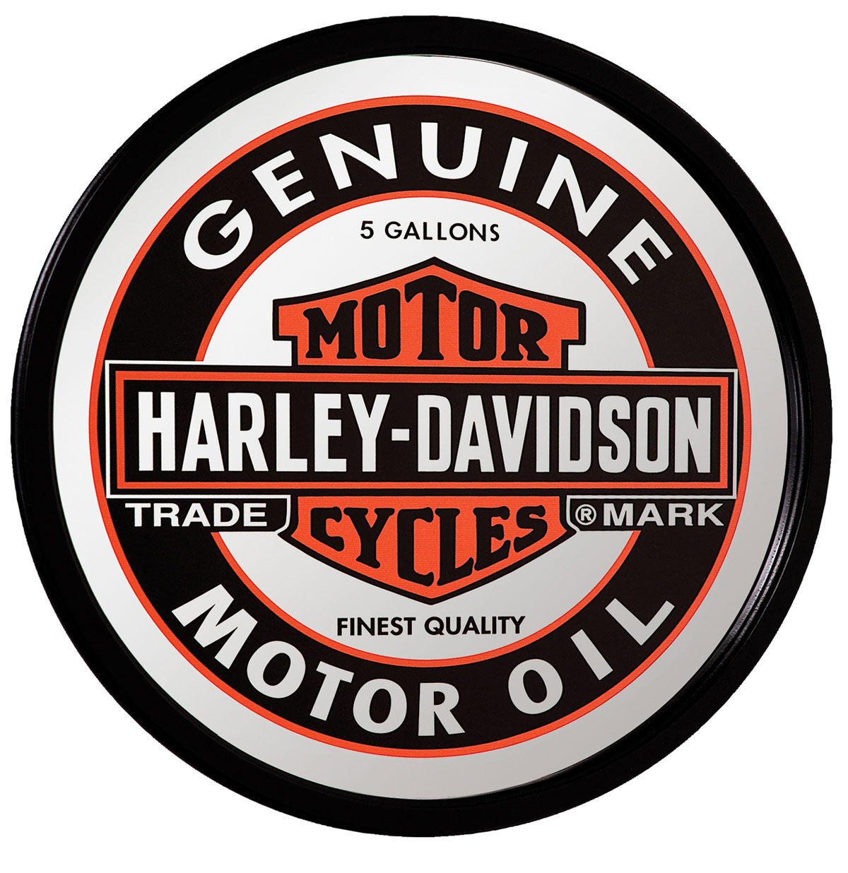 Harley-Davidson Oil Can Spiegel - LAATSTE KANS