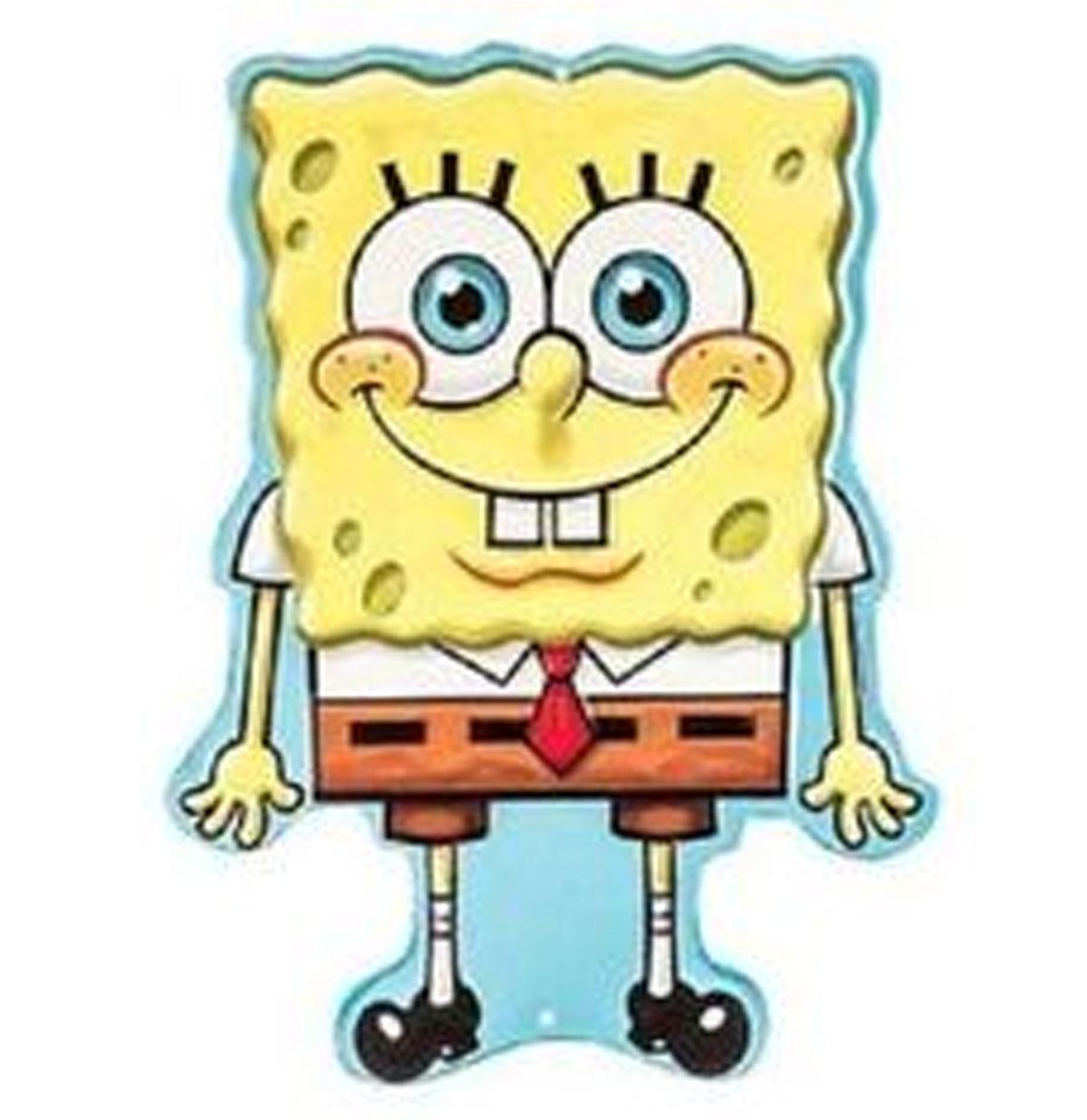 Spongebob Relief Tinnen Bord