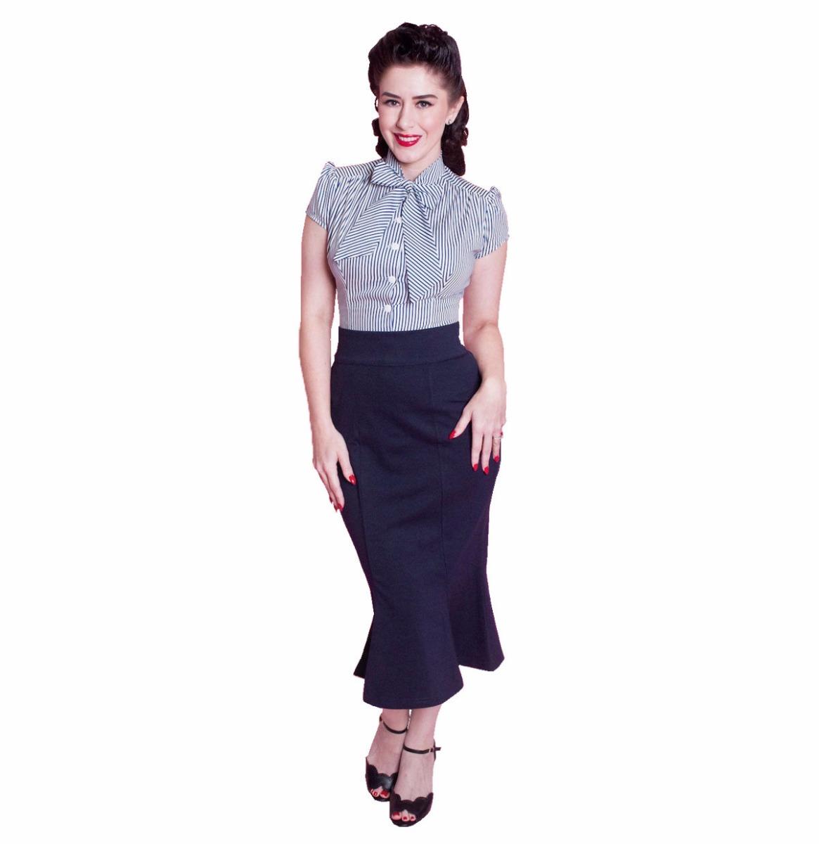 Diva Navy Skirt