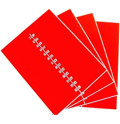Wurlitzer 1700 stickers titelkaart bordjes (smal)