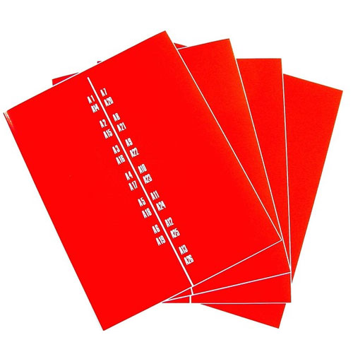 Wurlitzer 1700 stickers titelkaart bordjes