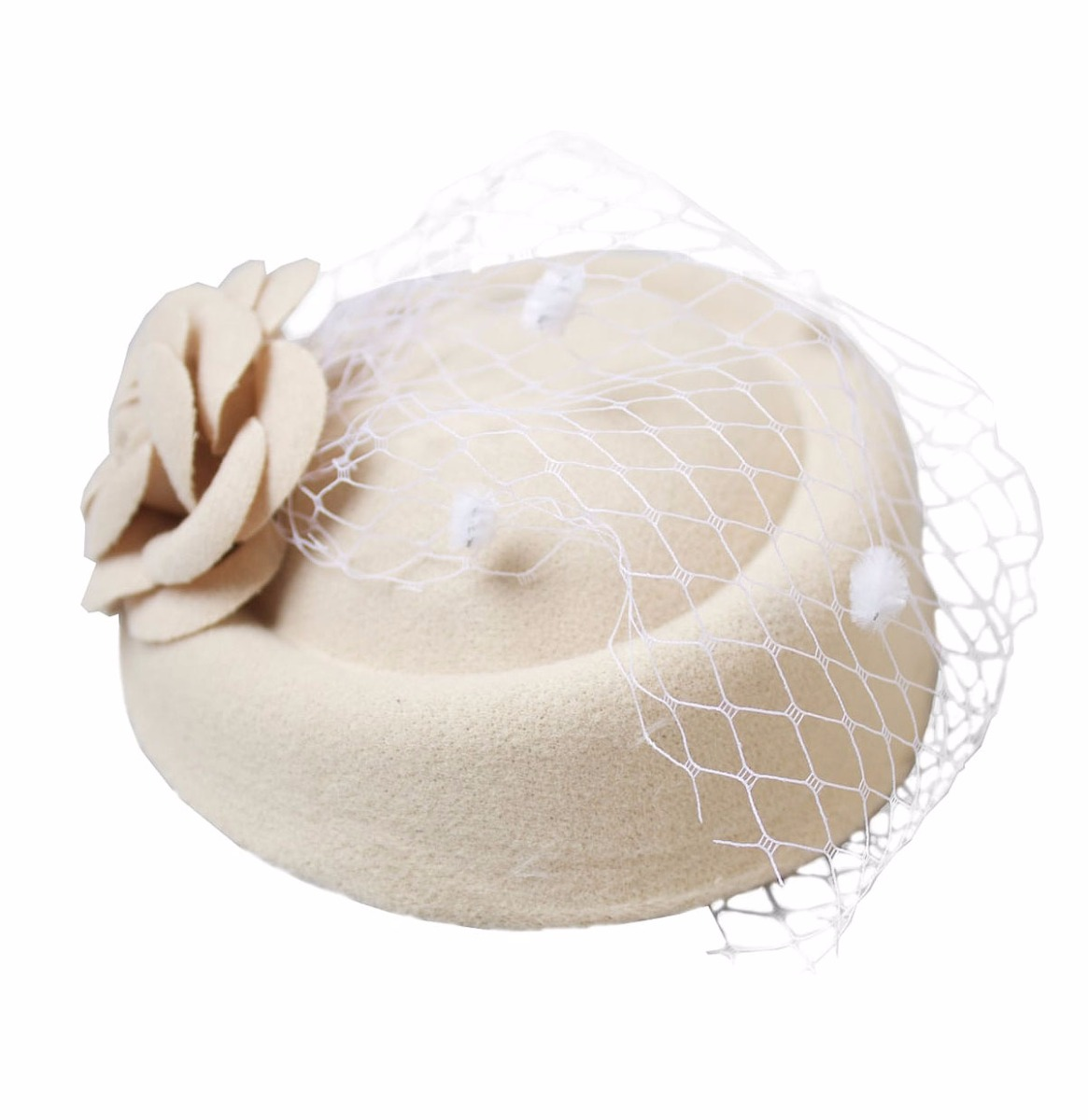 Jemima Hat, Cream