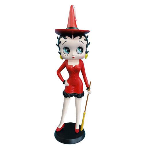 Betty Boop Heks (rood) beeldje