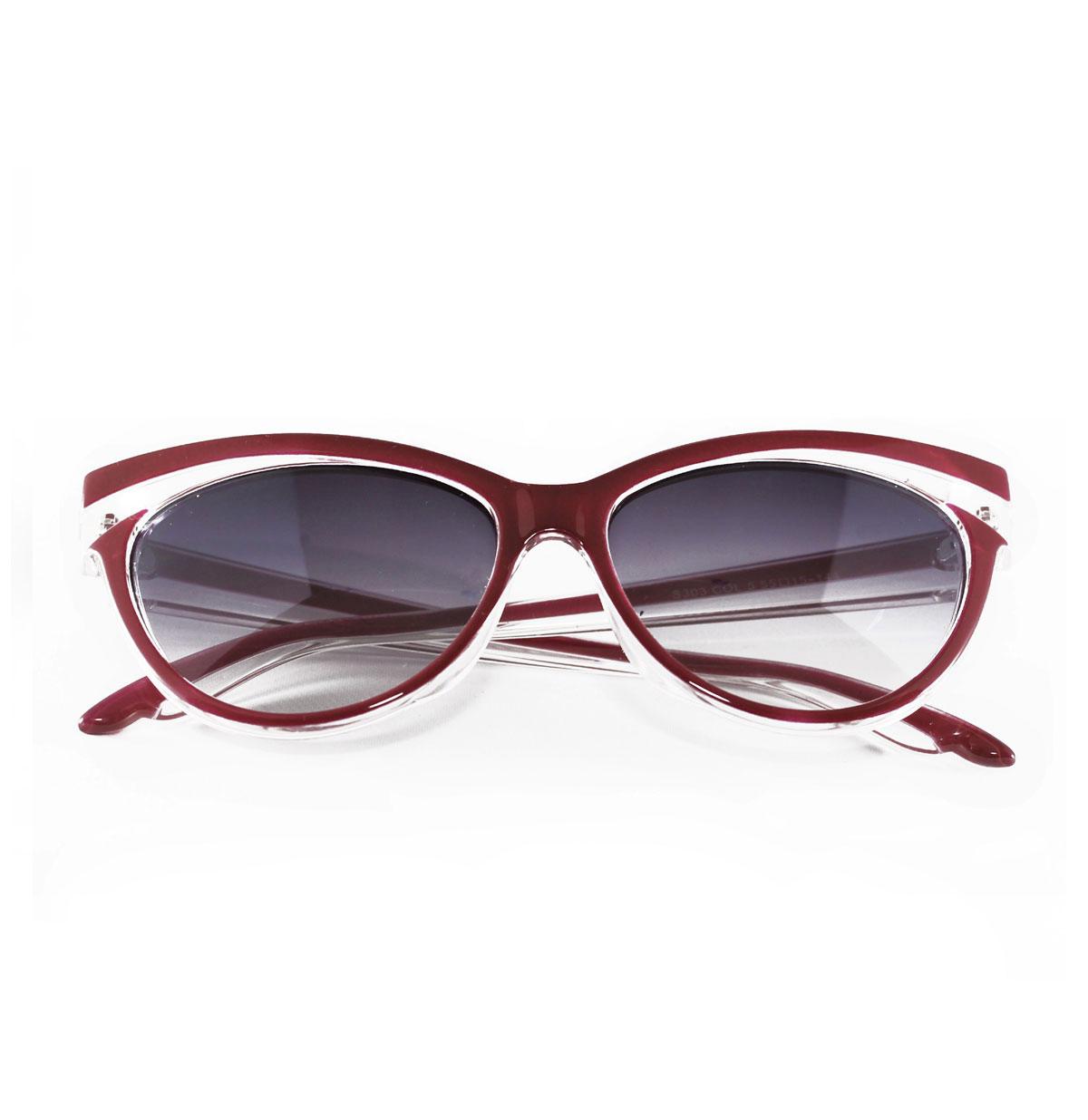 Judy Cat-eye Sunglasses, Red