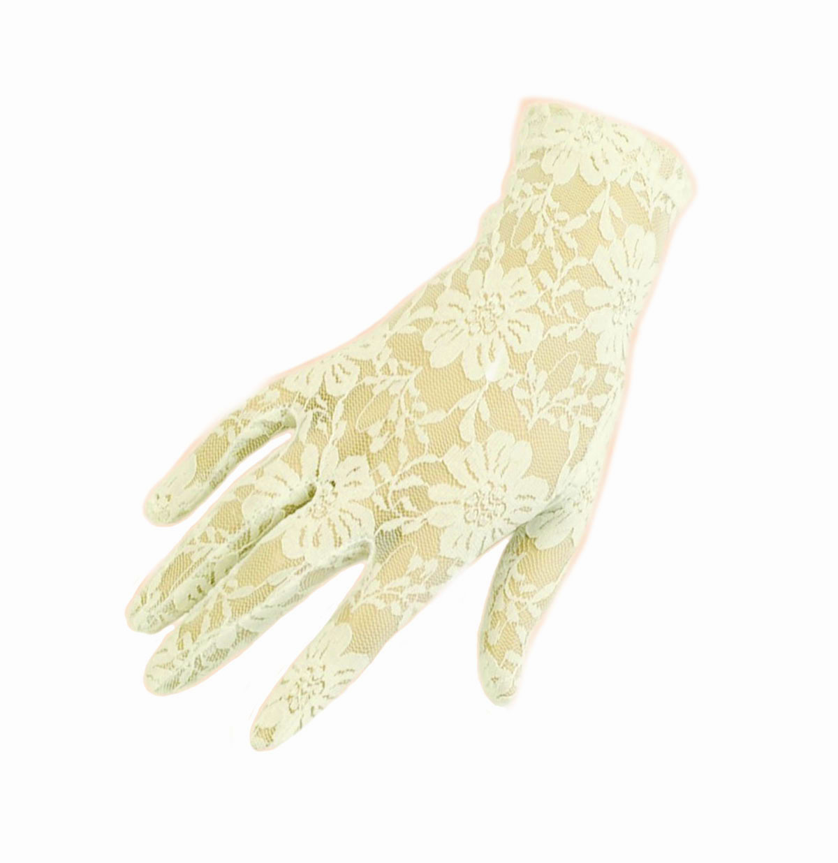 Lace Gloves, Ivory