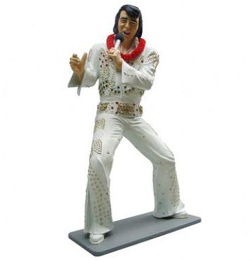 Elvis Presley dansend jumpsuit Life-size Beeld