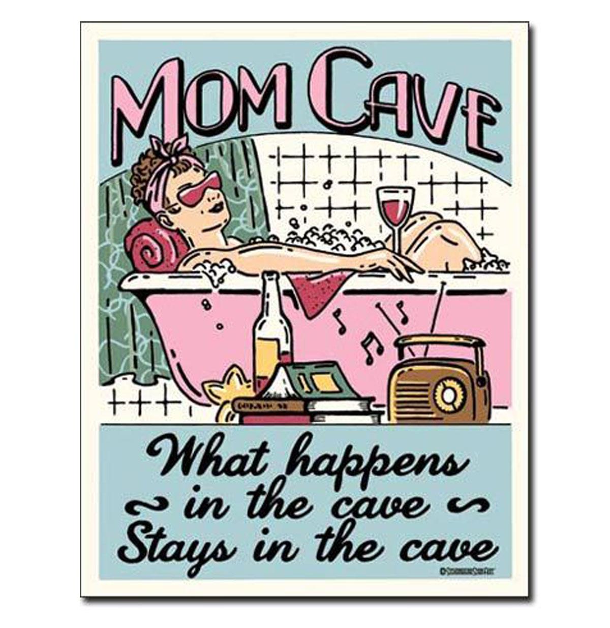 Metal Print - Mom Cave